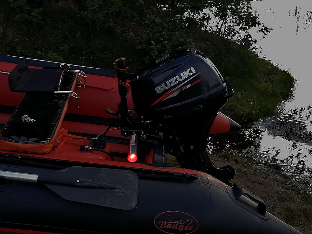 Сработавшая сигнализация для лодки пвх