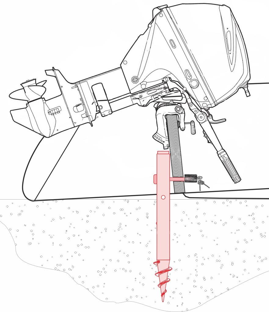 защита лодки от угона