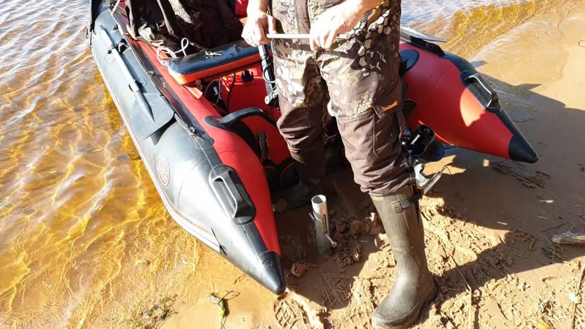 защита лодки с мотором от кражи