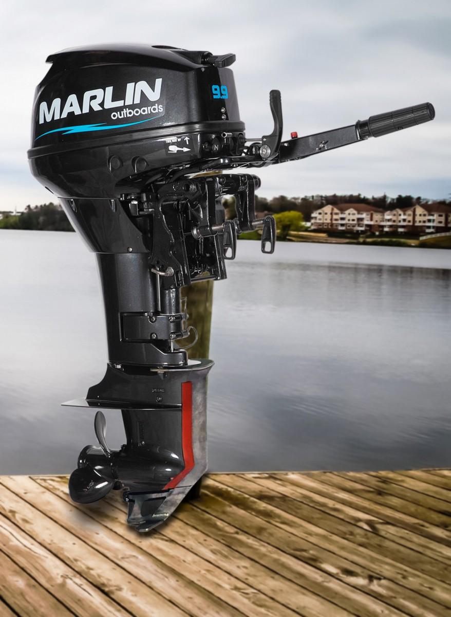 Защита винта и редуктора лодочного мотора Марлин