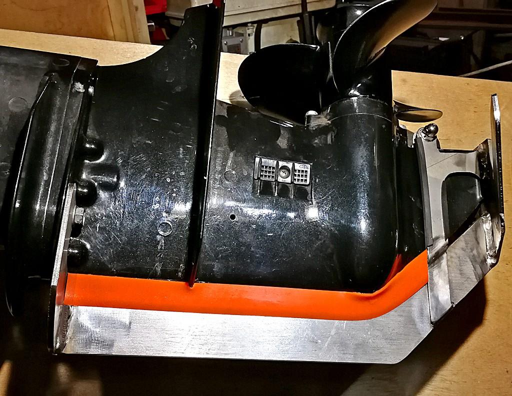 Защита винта и редуктора на лодочный мотор MARLIN (Марлин)
